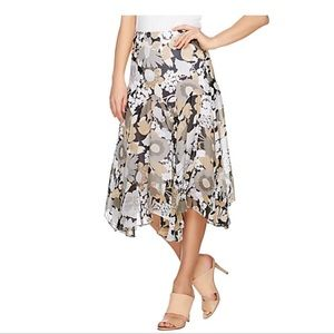 ‼️NWT‼️Fully Lined Floral Print Skirt